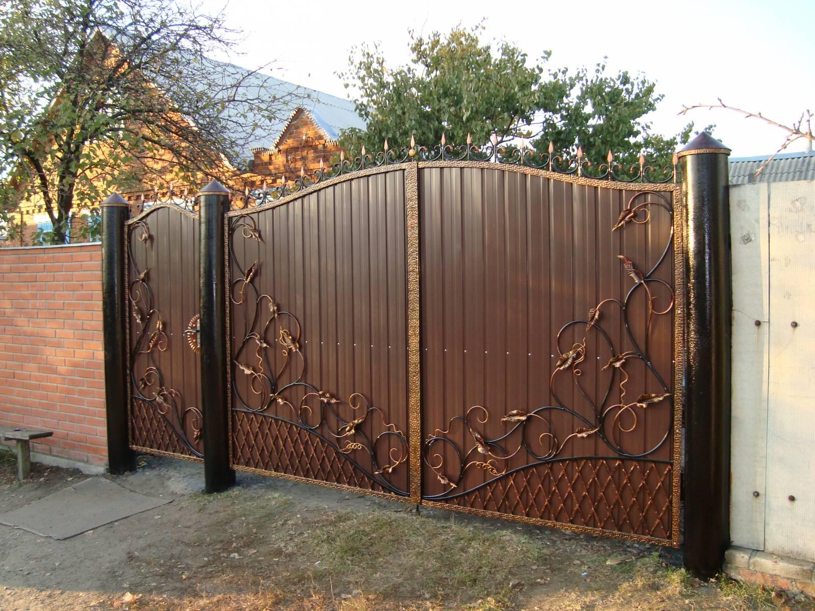 Смотреть ворота для дома фото автоматические ворота цена калуга